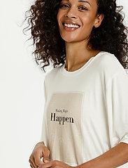 Kaffe - KAmarna SS T-Shirt - t-shirts - chalk - 5