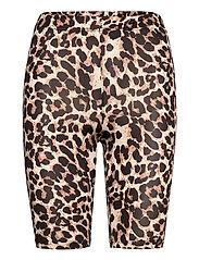 KAanni Jersey Shorts - LIGHT SAND / BLACK SNAKE