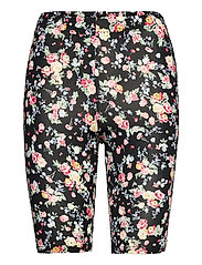 KAanni Jersey Shorts - PINK / BLUE MULTI FLOWER