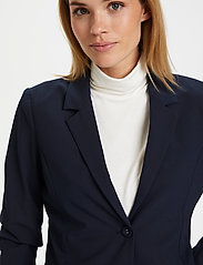 Kaffe - Jillian Blazer - matchande set - midnight marine - 0