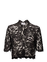 Edda Bolero ½ Sleeve MIN16 pcs. - BLACK DEEP