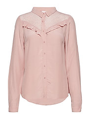 Adelia Shirt - BRIDAL ROSE