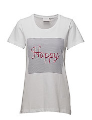 Happy T-shirt - OPTICAL WHITE