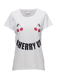 Cherryup T-shirt - OPTICAL WHITE