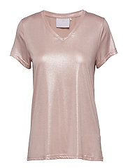 Silver T-shirt - PEACH WHIP