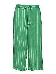 Henrietta Culotte Pants - JELLY BEAN GREEN