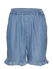 Parry Shorts - BLUE TENCELL