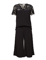 Ninna Playsuit - BLACK DEEP