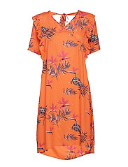 Trine Dress - BRIGHT ORANGE