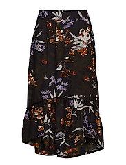 Kamba Skirt - BLACK DEEP