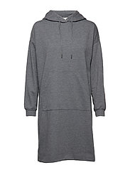 Sol Hoodie Dress - DARK GREY MELANGE