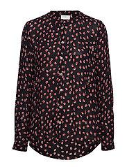 Anika PPP Shirt - BLACK DEEP