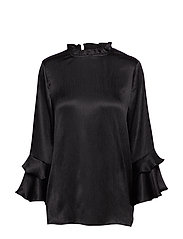 Elly Blouse - BLACK DEEP