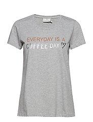 Eve T-shirt - GREY MELANGE