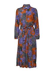 Lene Dress - GLAZED CARAMEL