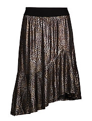 KAtille Skirt - BLACK DEEP / SILVER
