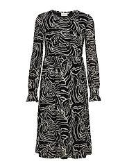 KAzeba Dress - BLACK DEEP