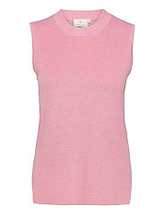 KAmiara Knit Vest - CANDY PINK MELANGE