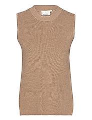 KAmiara Knit Vest - NOMAD MELANGE