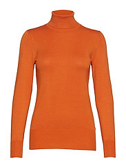 Astrid Roll Neck - BURNT ORANGE