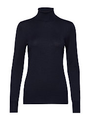 Astrid Roll Neck - MIDNIGHT MARINE