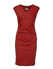 India V-Neck Dress - KETCHUP