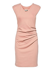 India V-Neck Dress - MISTY ROSE