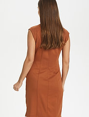 Kaffe - India V-Neck Dress - hverdagskjoler - sierra - 5