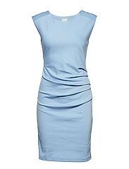 India Round-Neck Dress - FOREVER BLUE
