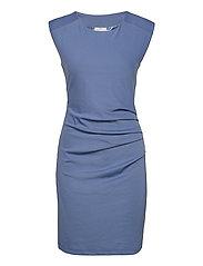 India Round-Neck Dress - QUIET HARBOR