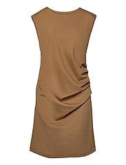 India Round-Neck Dress - THRUSH
