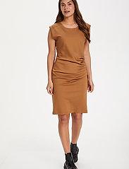 Kaffe - India Round-Neck Dress - midi kjoler - thrush - 3