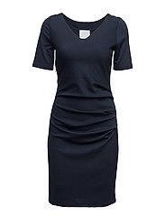 India V-neck ½ sleeve - MIDNIGHT MARINE