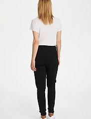 Kaffe - Jillian Pants - bukser med smalle ben - black deep - 3
