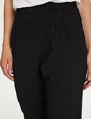 Kaffe - Jillian Pants - bukser med smalle ben - black deep - 4