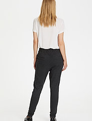 Kaffe - Jillian Pants - bukser med smalle ben - dark grey melange - 3