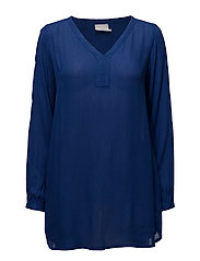 Amber V-Neck Tunic- MIN16 pcs. - ROYAL BLUE