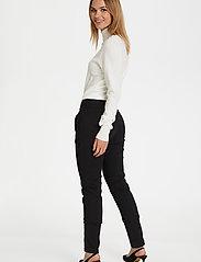 Kaffe - Vera Pant - slim fit bukser - black deep - 3