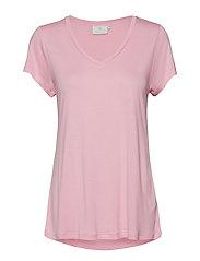 Anna V-Neck T-Shirt MIN 16 pcs. - PINK NECTAR