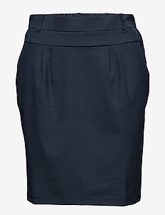 Jillian Skirt - midinederdele - midnight marine
