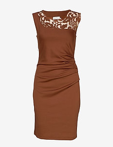 India Vivi Dress - TORTOISE SHELL