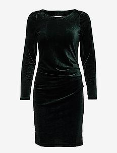Kelly dress - GREEN SPRUCE