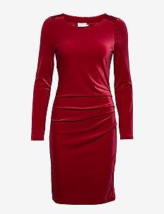 Kelly dress - HAUTE RED