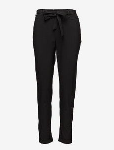 Jillian Belt Pants - pantalons casual - black deep