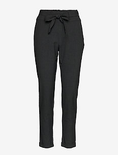 Jillian Belt Pants - DARK GREY MELANGE