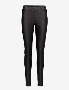 Ada coated Jeggings - leggings - black deep