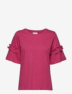 Vicky T-shirt- MIN 3 - bluzki krotkim rekawem - fuchsia rose