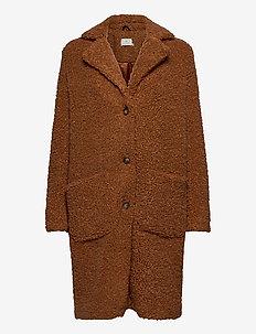 Balma Teddy Coat- MIN 4 Pcs - fausse fourrure - sierra