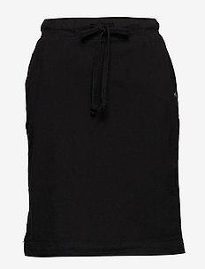 Naya Skirt - korte nederdele - black deep