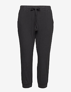 Naya Capri- MIN 20 pcs - casual trousers - black deep